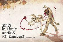 Zombie Mood Board / by NAPP_NancyM
