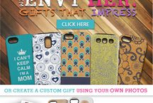 Gifts For Mom / Mother's Day Gifts for Mom, Grandma and more! Create Your Own Phone Cases, Laptop skins, iPad Cases and more!  / by Skinit