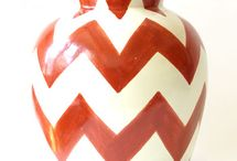 Everything Chevron / Who can resist the boldness of chevron zig zags?  / by Emilia Ceramics