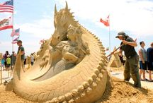 AMAZING Sand Sculptures / by Montrose Travel ~ Your Travel Experts ~