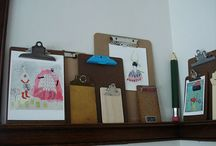 Vintage Clip Boards / by Kim Longhurst