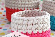 Crochet baskets / by Selena Snow
