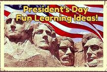 Presidents' Day ideas / by Katie @ Gift of Curiosity