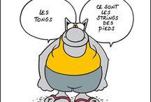 Humour et citations / rire ou sourire, l'humour est important / by Chantal Halbout