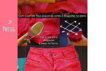 roupas customizadas / by Diana Santiago