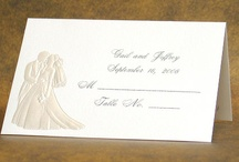 Wedding Place Cards / by Wedding Bedazzle