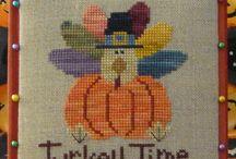 Thanksgiving Cross Stitch / by Gypsy Lee