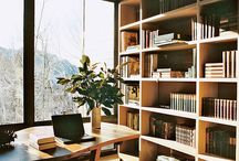 home | workspace / The workspace: office, study or library. / by Taryn H