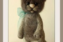 Needle Felting & Felt / by Telegraph Treasures