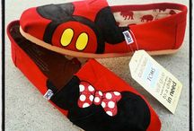 Disney shoes / by Kelly Thompson