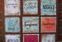 Wall Hanging Ideas / by Heather Vernon