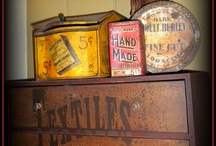Olde Tins & Signs / by ♥ Prim With Love ♥