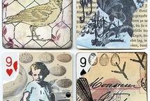 Deck of cards ATC / by Juanita Bozzer