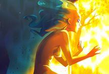 Fairies, Nymphs, Spirits, Angels / by Laurel Doub