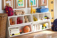 kids play room / by Ashley Verhagen
