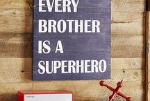 Boys Superhero Room / by Christine Arfsten