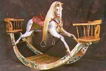 Carousel and rocking horses / by Connie Rhoden