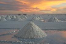 Salar De Uyuni, Bolivia / by Urbita (www.urbita.com) - I love this place!