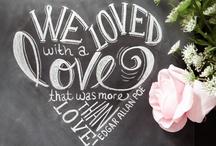 Chalkboard / by Kandy Larrimore