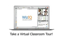 WizIQ Education Online / WizIQ is a place to learn and teach online. You can teach, present live at face-to-face and online conferences, board meetings, family affairs, and conduct interviews for research or jobs, and share information through WizIQ live classes. You are also invited to attend live online classes given by world known experts and teachers on a variety of subjects. 