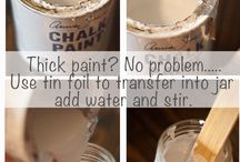 Painting Tips and Tricks / by Kelli Wright