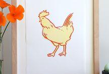 Chickens / by Bec Doddridge