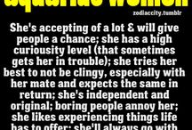 I'm An Aquarius / All about my zodiac sign...it's actually fairly accurate. / by Jo-Anne Duhamel