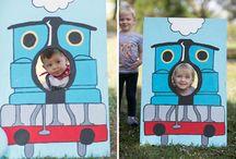 Thomas the train party / by Jamie Thomas