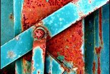 A bit rusty ... / by Catherine Scott