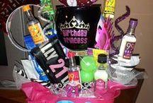 21st birthday Party ideas!! :) / by Kristen Mize