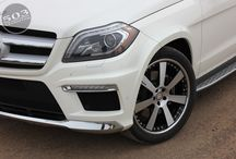 """2013 Mercedes Benz GL550 with HRE Wheels / We take the 2013 GL550 and lower it 2 inches, Tint the windows with SUNTEK CXP45 and add HRE Wheels 22"""" 948RL's.  / by 503 Motoring"""