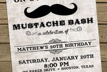 Graysen's Mustache 1st Birthday / by Laney K