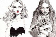 illustrations / by Meg White