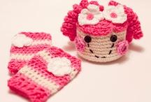 Crochet hats,Scarves,headbands,hair accessories,mittens / by Lori Sotelo