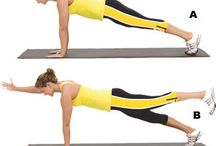 Exercise core/stomach/abs / by Tammy Spano