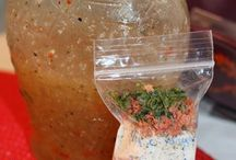 Recipes: MYO Mixes; Dressings & More / by Sylvia