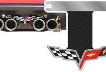 C6 CORVETTE (2005-2013) EXHAUST ENHANCER PLATES / The C6 Corvette exhaust enhancer plates come in a variety of colors, designs and materials to provide you with the perfect option or your customization. These are designed to be mounted between your exhaust pipes, accentuating the beautiful stock or custom exhaust you have installed; giving your Corvette's rear end a gorgeous custom design that will keep heads turning. / by Corvette Mods LLC