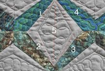 I Quilted this!!! / I love coming across quilts that I have quilted on pinterest! Here are just a few of the quilts I have done! / by Angela Walters