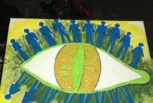 my art work for gallery in ladywell mistymoon / by belinda bee