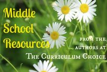 Middle School / Resources for homeschooling middle school / by Curriculum Choice