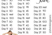 Daily workouts / by Tara Thompson