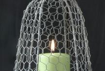 Farm: Baskets, Chicken Wire Cloche / by Christine E Stout