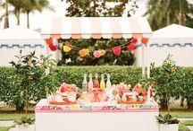 Carritos candy bar♥ / by Pompom Fiestas y detalles. Pompones Mallorca