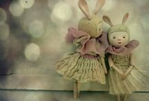 Art Dolls / In the same way as birds make a nest of anything, children make a doll of no matter what. victor hugo / by Kimberly Sherrod