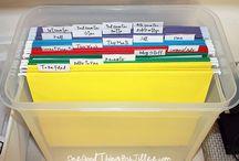 Organizing / by Naomi Padilla