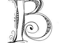 Letters/lettering / by Susan Bishop