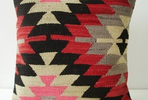 kilim textiles and prints (painting project) / by Kara Firstenberger
