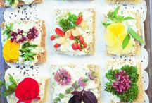 Pretty delicious EDIBLE FLOWERS / Edible flowers / by eDonnabelle