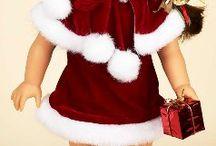 Holiday Doll Clothes / Holiday doll clothes. #dollclothes #holidaydollclothes / by Sew Dolling