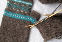 Yarn Craft: for the hands / Finally had to split up my yard craft board.  Yup, this one is all about gloves, mitties, fingerless gloves, and anything else worn from the elbow down. / by Katie Simon